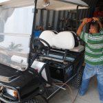 XRT Repairs at our Boatyard