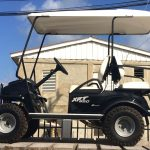 Black XRT Golf Cart