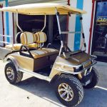 Gold Villager Golf Cart