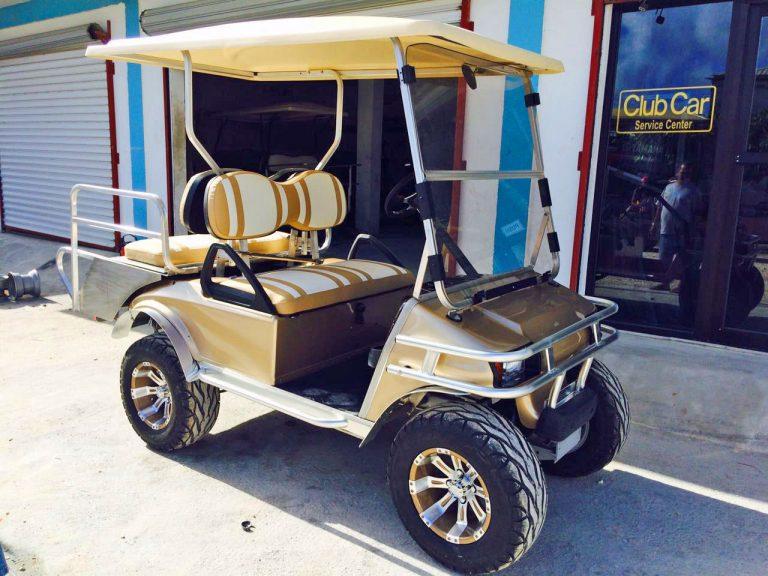 Gold Villager Golf Cart