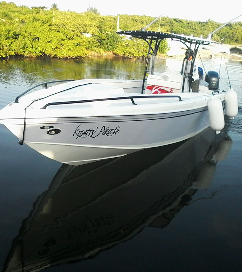 WAHOO – 28 ft Boat