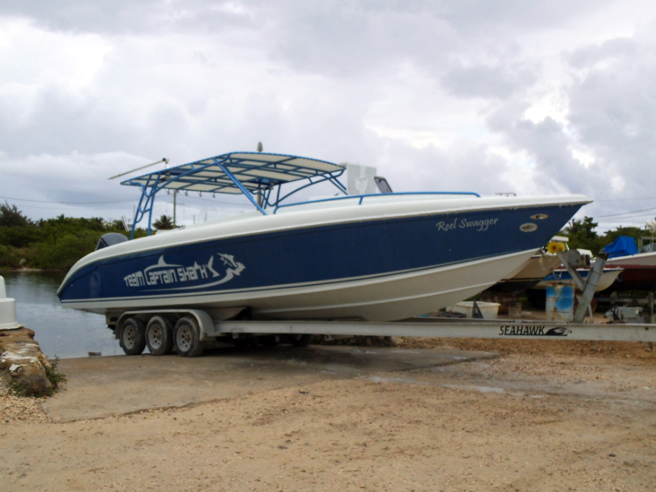 Boatyard – Now Available! New 34 Ft Custom Fishing Boat