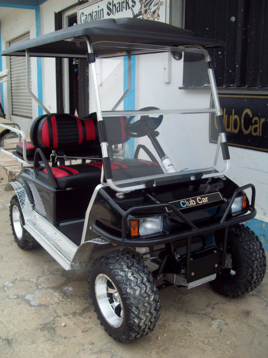 Another Customized Golf Cart Sold!