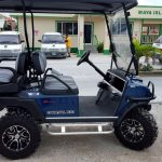 Navy Blue CarryAll 100 Club Car Golf Cart
