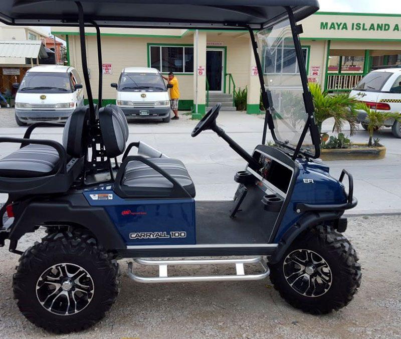 Navy Blue 2018 CarryAll 100 Club Car Golf Cart