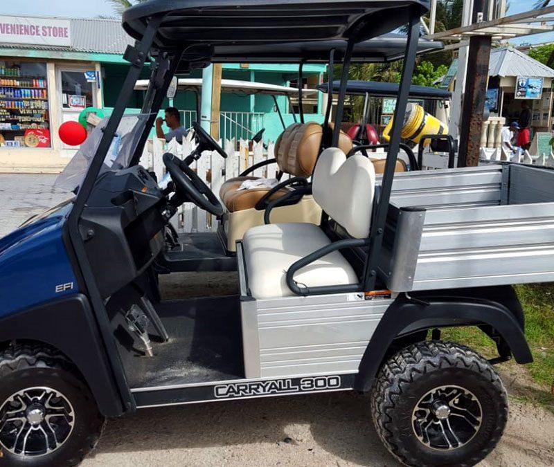 Navy Blue 2018 Club Car CarryAll 300