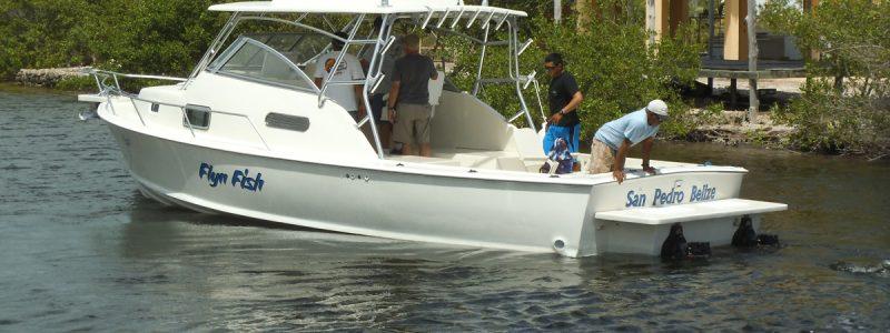 Bill Toonan's Refurbished Boat by Captain Sharks