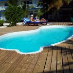 Caribbean Villas Pool In Use
