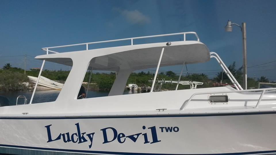 Customizations for Lucky Devil Boat!