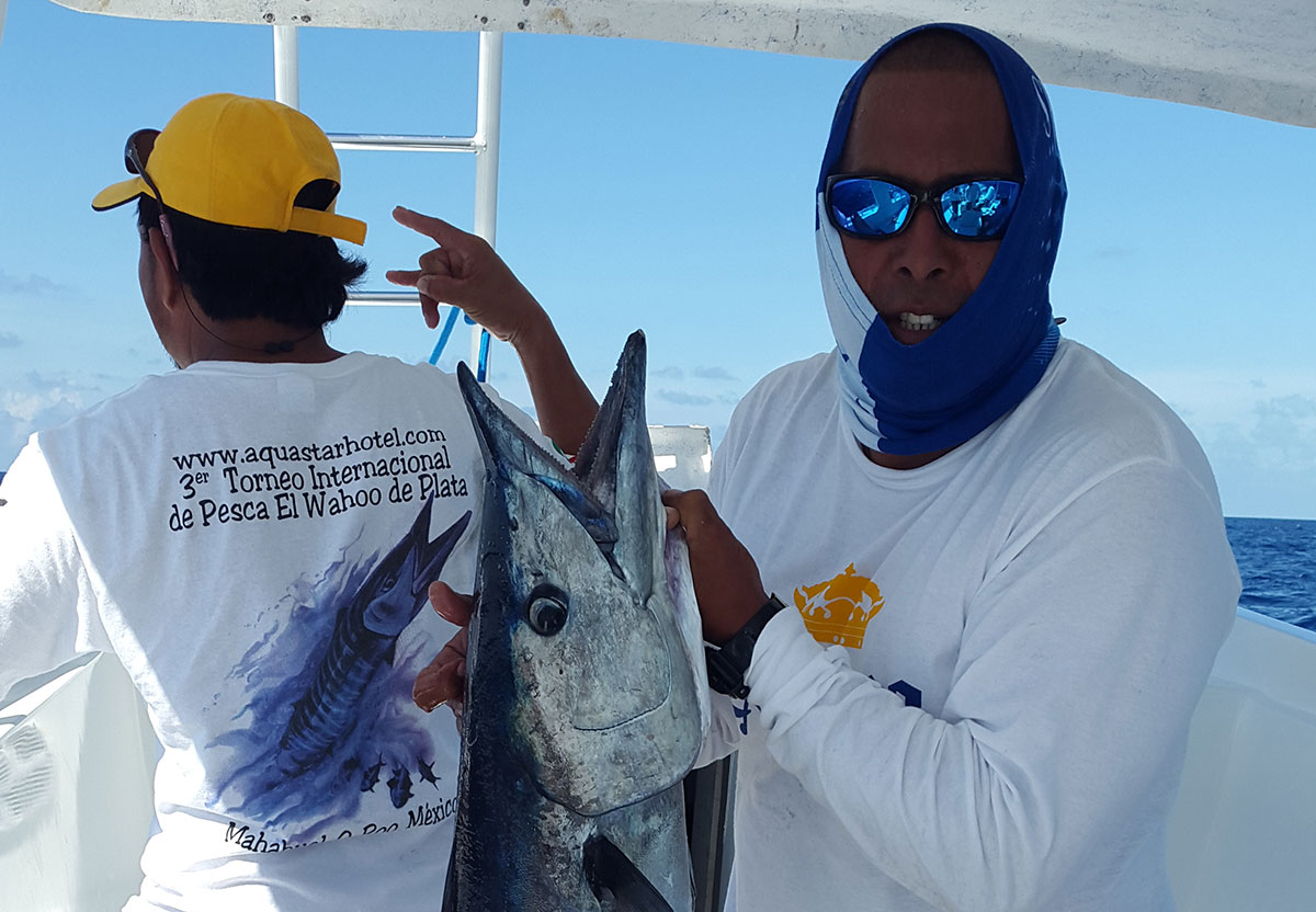 Team Captain Shark's 5th Place on Mahahual, Mexico Fishing Tournament