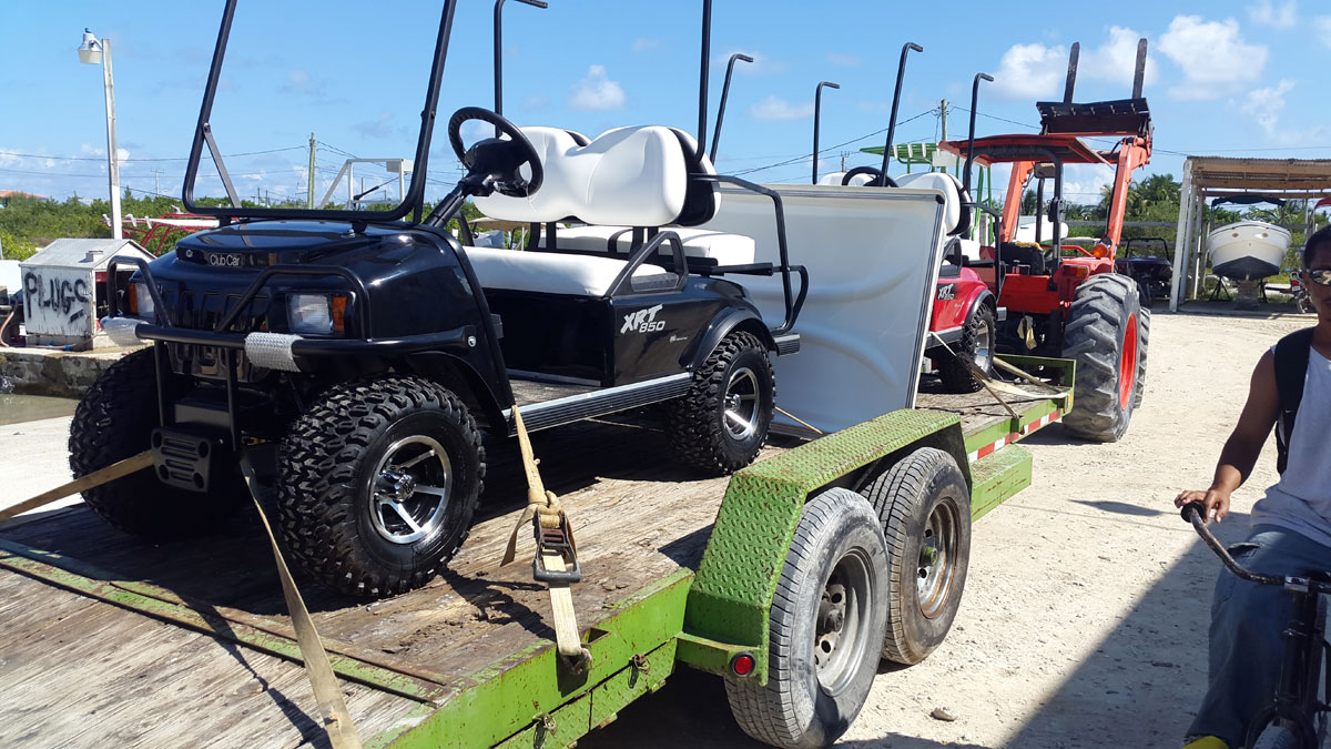 Belize Dreams Resort Purchased 2 New XRT850 Golf Carts