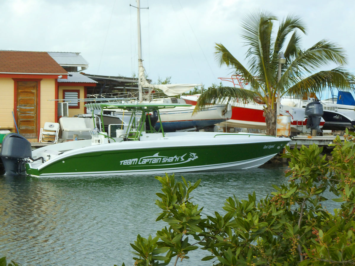 34-Dorado Boat Built By Captain Shark's Boatyard