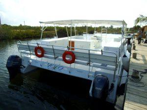 """40-foot Sun-setter Catamaran """"YOLO"""""""