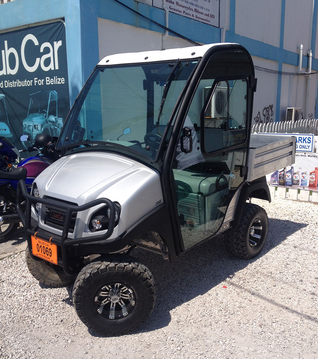 New Carryall 300 with an Electronic Fuel Injection Motor!