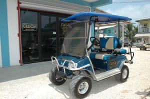 Service Center Golf Cart