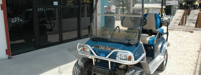 Service Center Golf Cart