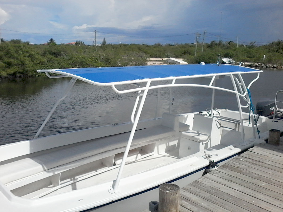 congratulations to jim reilly on his custom t top captain sharks belize marine center boat. Black Bedroom Furniture Sets. Home Design Ideas