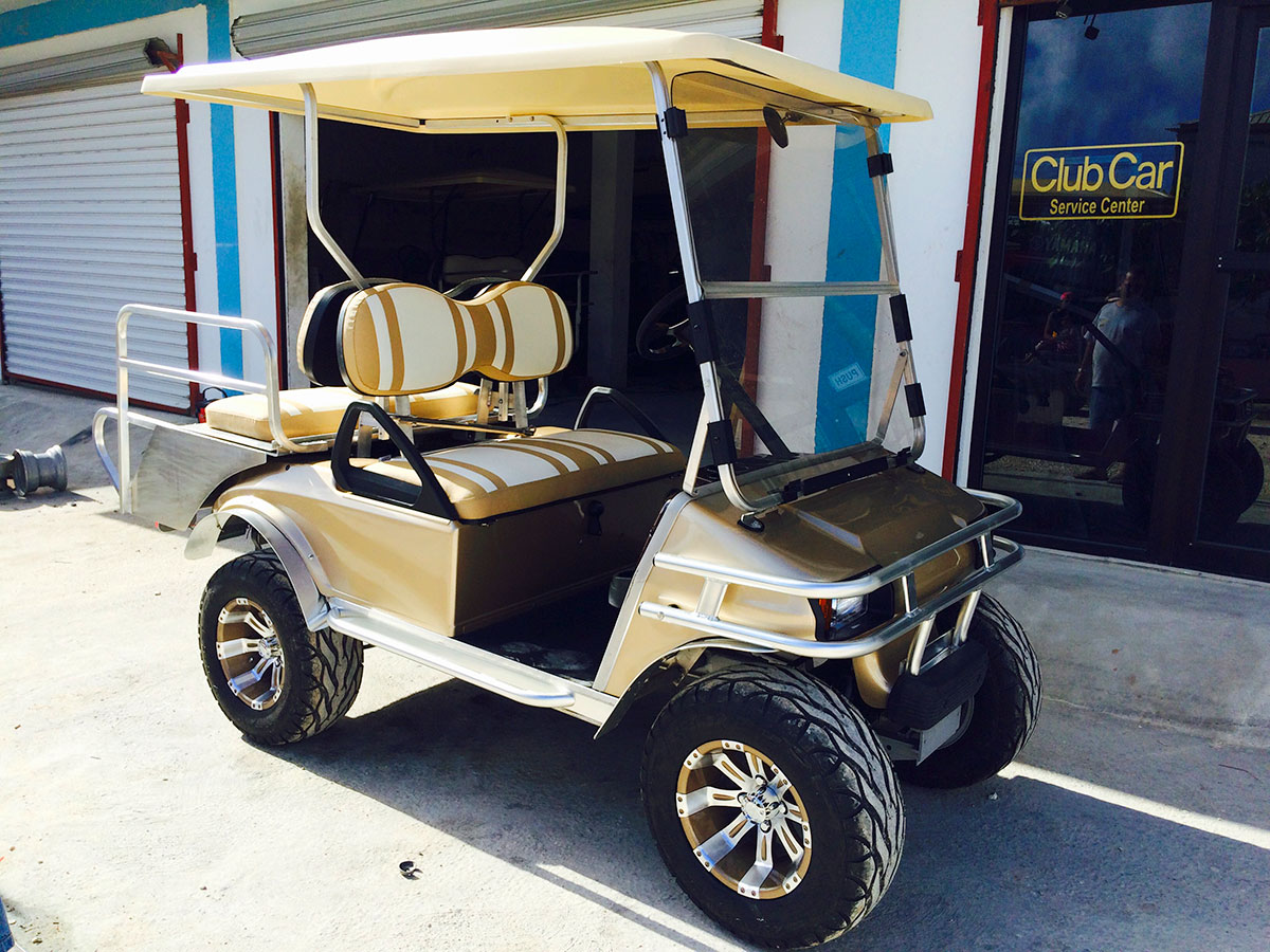 Mati Rodrigues' Brand New Golf Golf Cart