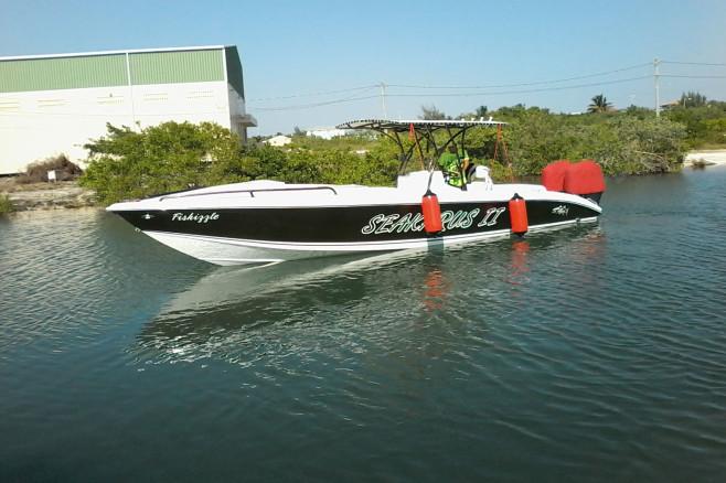 Manuel Del Valle Wahoo 30 Boat