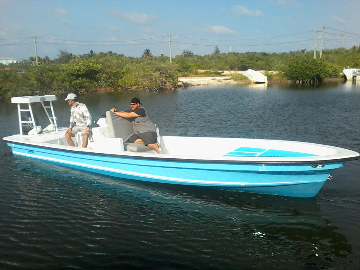 Permit 23 Boat