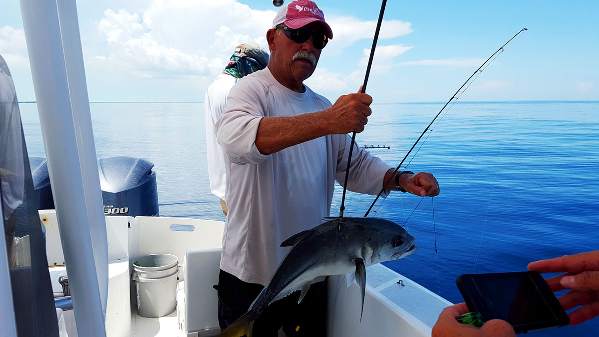 Fishing charters and adventures captain sharks belize for Belize fishing charters