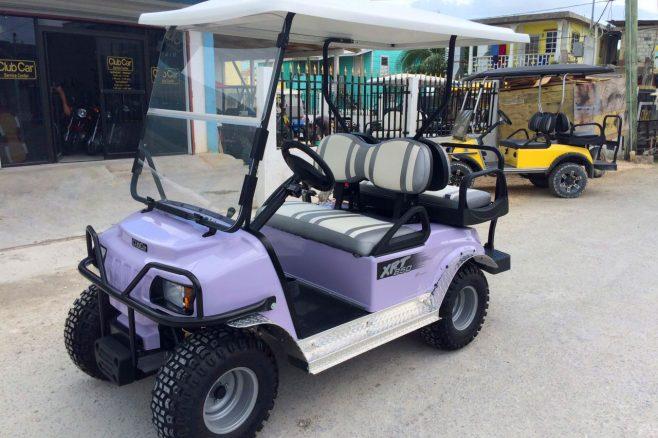 Brand New EFI XRT850 Club Car Golf Cart purchased at Captain Sharks