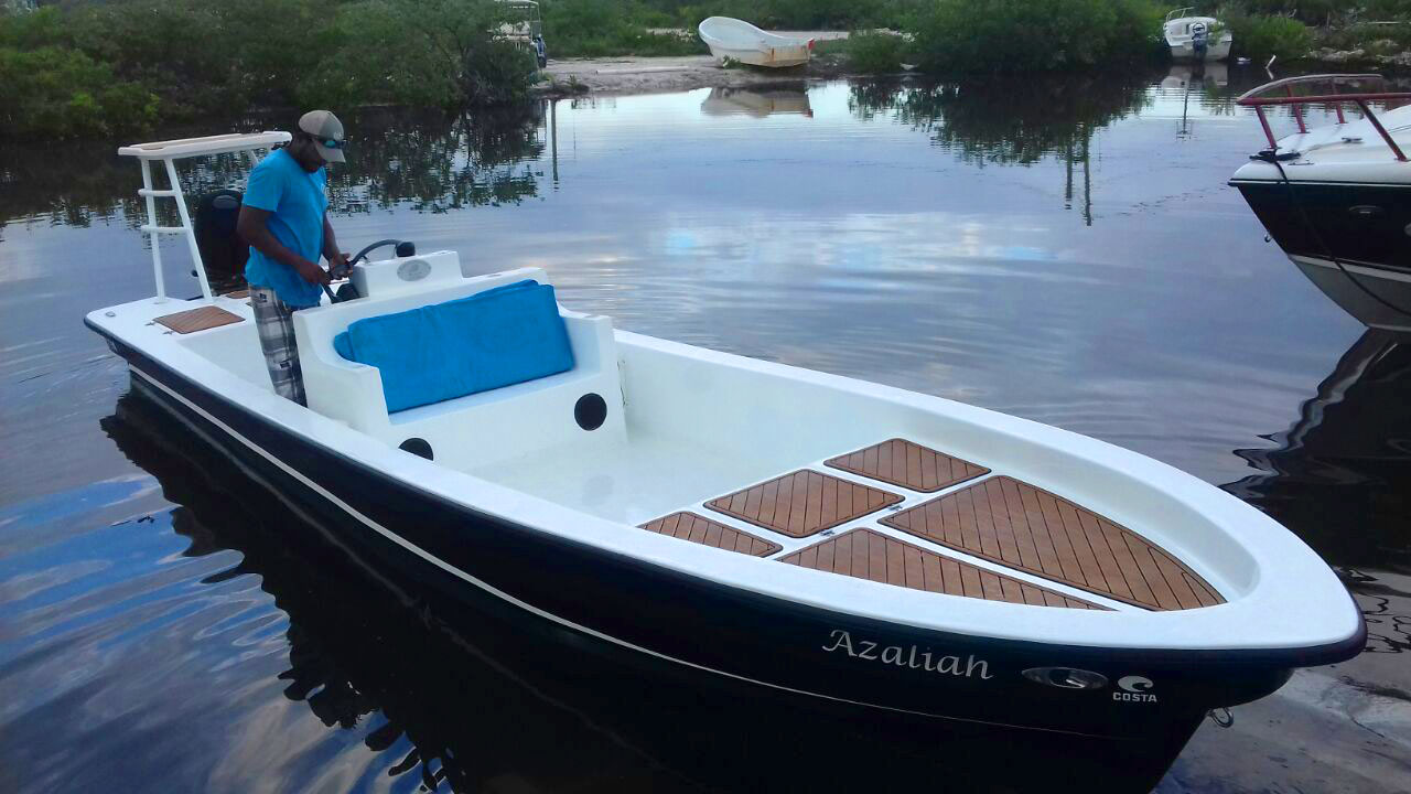 Permit 23 Boat with Custom Sea Deck, Azaliah