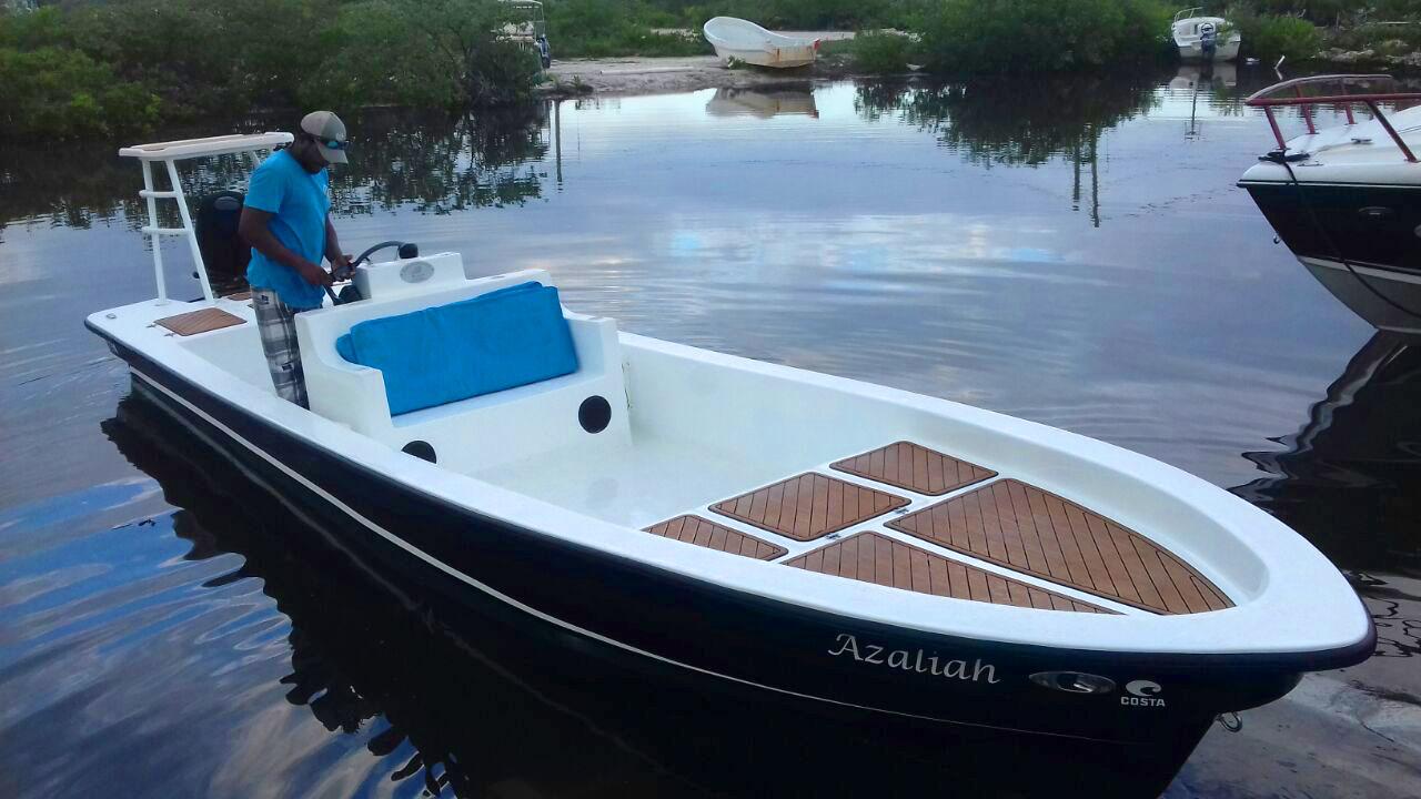 Congratulations to Jeovani Ortega on his New Permit 23 Boat, Azaliah