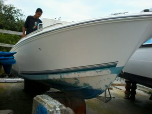 Used 19ft Aqua Sport Boat with Engine