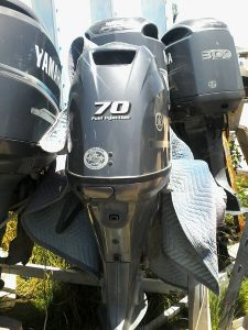 Used 70HP Yamaha 4-Stroke Engine