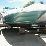 "Used ""Sea Ray"" Boat with 200 HP 2 Stroke Yamaha Engine"