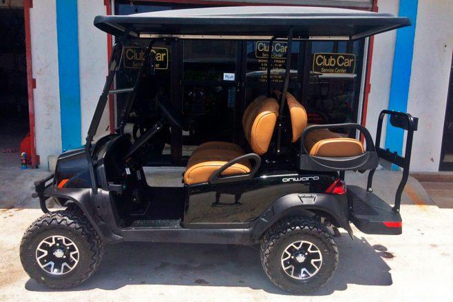John Turley's Onward 4 Passenger Golf Cart