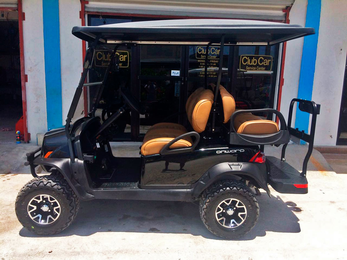 John Turley's Onward 4 Passenger Golf Cart