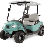 Club Car Sea Foam Onward Special Edition Golf Cart