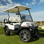 Club Car Onward Vineyard Vines Signature Golf Cart