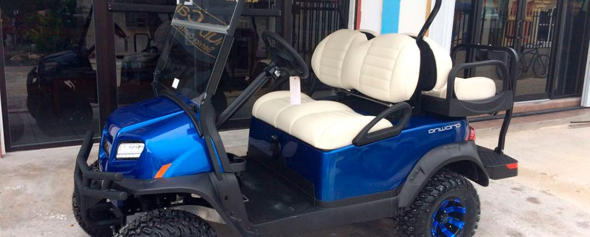 Congrats Claudio Azueta On Your New Onward Golf Cart