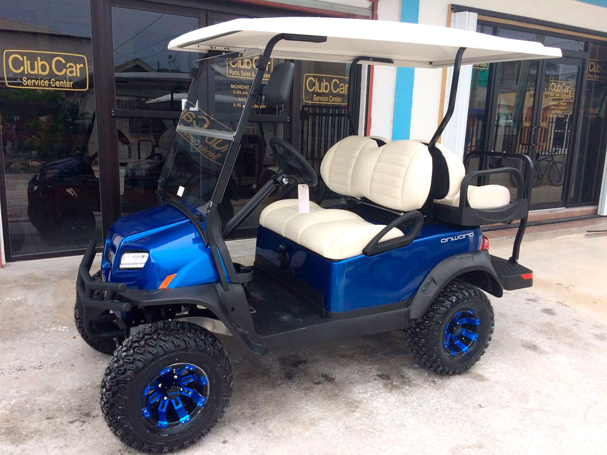 Onward Golf Cart purchased by Claudio Azueta