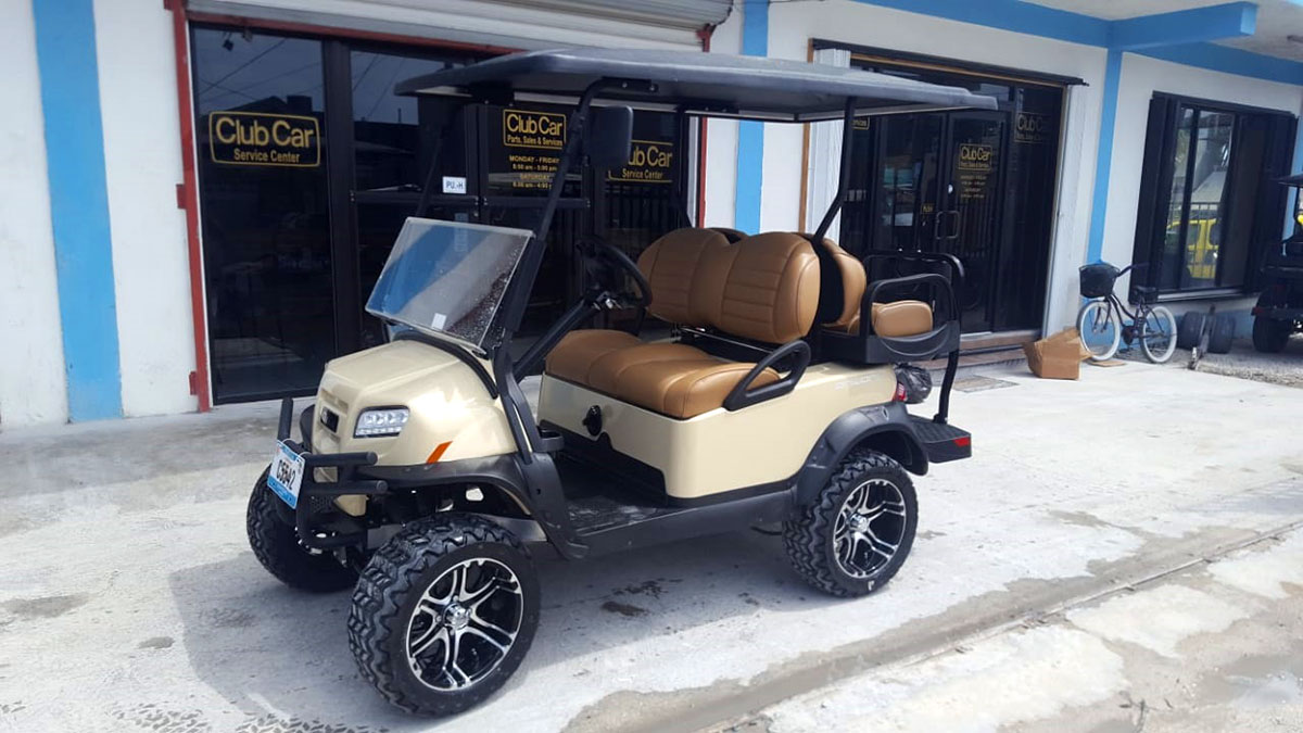 Onward Cream Golf Cart