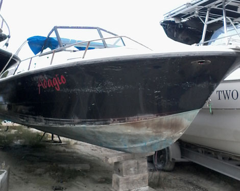 "Used ""Adagio"" 24ft Boat"