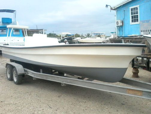 Used 23ft Permit Boat