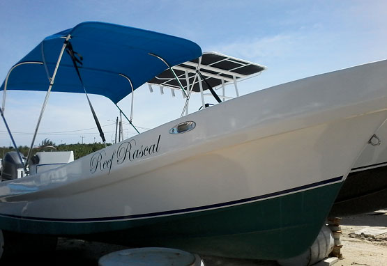 "Used 20ft Luna Boat ""Reef Rascal"" with Engine"