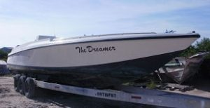 "Used ""The Dreamer"" 38ft Boat"