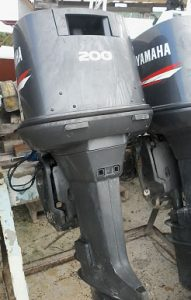 Used Yamaha 200HP Engine