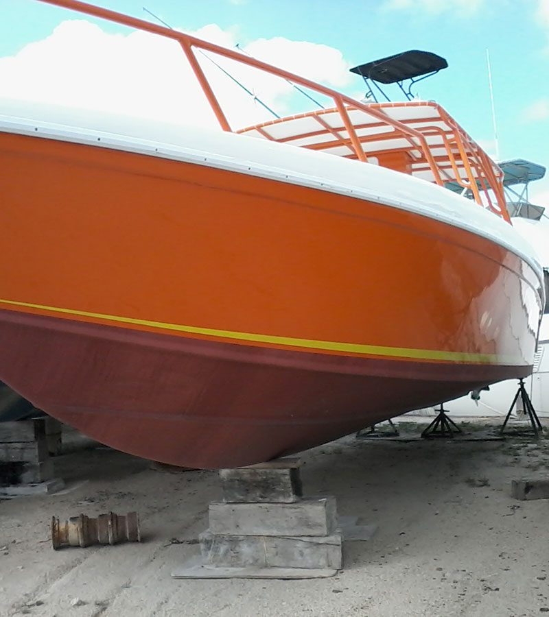Brand New Orange Dorado 34ft Boat