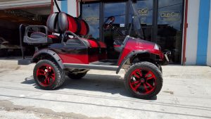 Refurbished Setour Custom Golf Cart