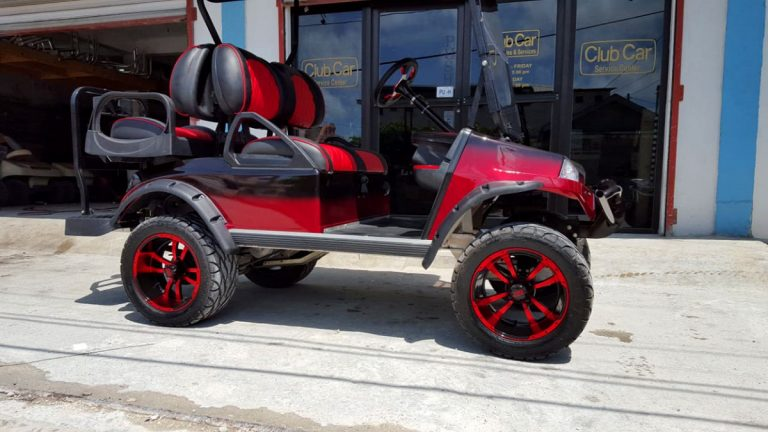 Refurbished Setour Custom Golf Cart