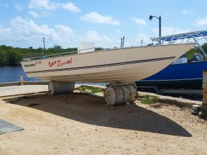 "Used Clearwater 20ft Boat, ""Catch Me If You Can"""