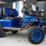 Refurbished Navy Blue Villager Golf Cart