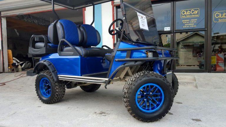 Refurbished Navy Blue Villager Golf Cart