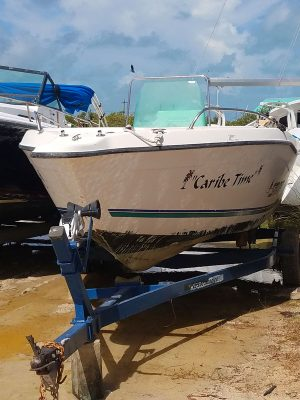"""Used 21ft Boat """"Caribe Time"""""""